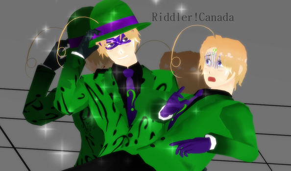 Riddler!Who?? W.I.P by Rozelia