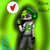 Bijuu Mike fan art  by lilmissfryingpan