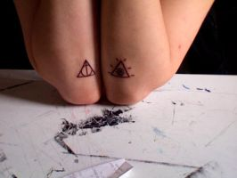 2nd and 3rd tattoos by JuneSunshine