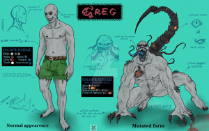 Greg reference sheet by EvilBlot