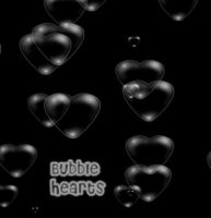 BUBBLE HEARTS brush by SweetCandyDreams