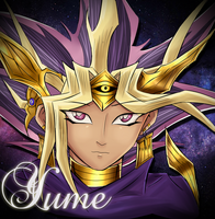 Atem: DREAM { Pillowcase? } by xSparxQueenx