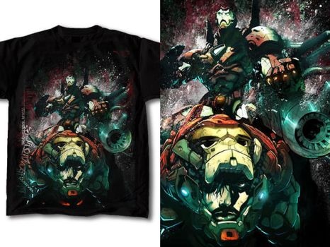 T-Shirt Design Marvel 01 by RobDuenas