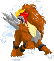 Entei Graphic