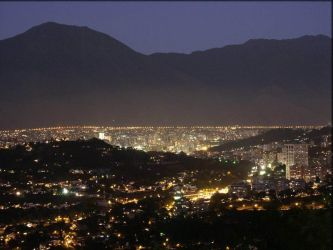 Caracas At Night by BlackShaggy