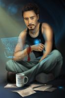 Tony Stark for Era Angel by Ariata