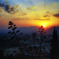 Sunset in Granada by kyptanuy