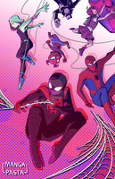 Into the Spiderverse by manga-pasta