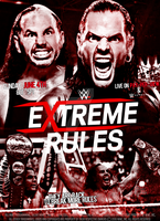 WWE Extreme Rules 2017 Poster by SidCena555