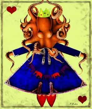Queen of Hearts by mkdieb