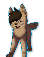 I'm happeh! .: Art Trade:. by alicesstudio