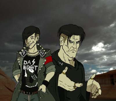 Dystopia - Kriegers by Jurassic-Gothic