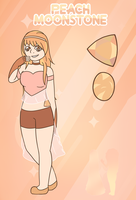 FUSION - Peach Moonstone by Fyreglyphs