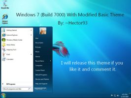 Windows 7 Basic Modified Theme by Hector93