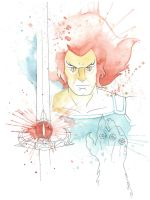 Lion-O Watercolor by JAWart728