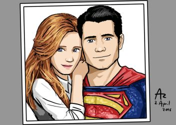 Lois and Superman by Fandias
