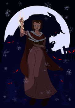 Belle the sorceress by ranma-tim