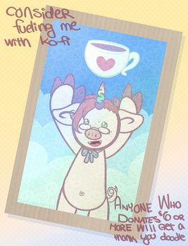 Announcing My Ko-Fi! by graveyardcritter