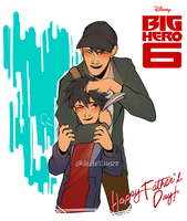 BH6: Father's Day 2016 by DAsKeTcHeRZ