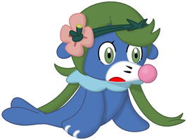 Commission: Mallow the Popplio by P1nkApple