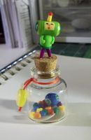 Katamari Bottle by egyptianruin