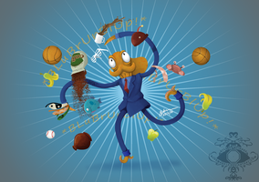Octodad! by bluemage13