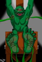 Orc's tickle torment by KenJ91