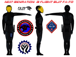 Next Genration  G flight suit FA-70 by bagera3005