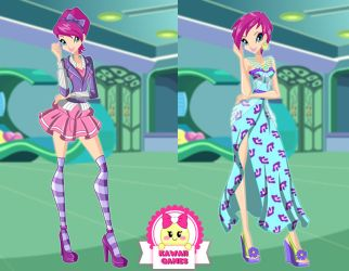 Winx Club Tecna Season 6 Outfits Dress Up by heglys