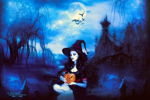 Halloween By Funeral by annemaria48