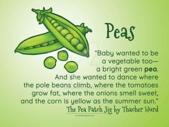 Peas by SheilaSunshine