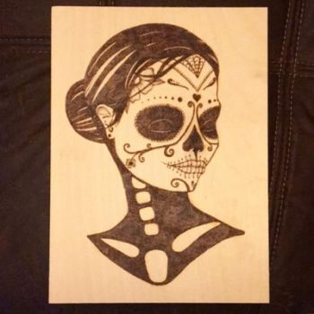 Day of the dead by Blindfaith-boo