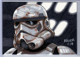 Stormtrooper ACEO by Rathskeller7