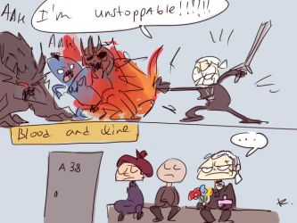 The Witcher 3, doodles 75 by Ayej