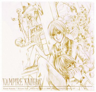 Vampire Knight : Night 002 by mrsloth