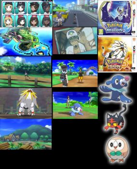 Pokemon Sun and Moon First Thoughts by pimmermen