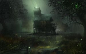 Villain's-house by serjio-c