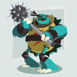 TMNT Slash / Spike by ugoyak