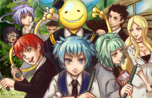 Assassination Classroom by Pew-PewStudio