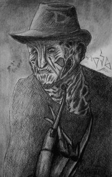 Freddy Krueger by angor7a
