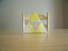 Papercraft Triforce by Drawingdude1098