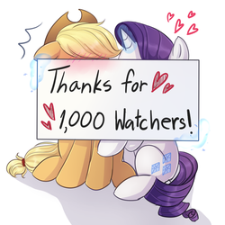 Thanks for 1000 watchers by LooknamTCN