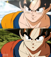 Goku Recolor by RenanFNA