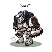 40k: World Eater by wibblethefish
