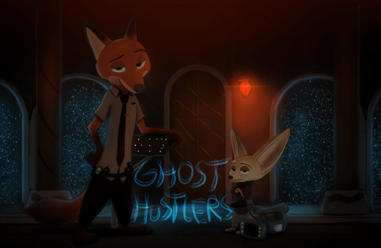 Ghost Hustlers (Comic Cover) by Jaskenator7000