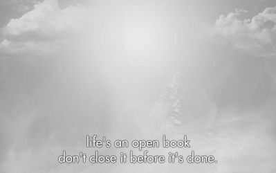 Life's open book...1440x900 by Takeuswiththefloods