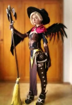 Witch Mercy cosplay by MairiCosplay