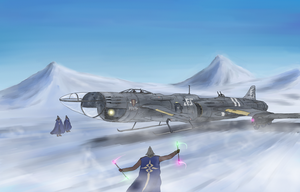 Royal Air Force Heavy Fighter, Barchetta III by AoiWaffle0608