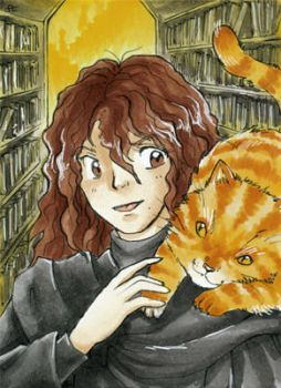 Hermione Granger - Harry Potter ATC by Merinid-DE