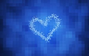 Heart Blue Wall by FTN1